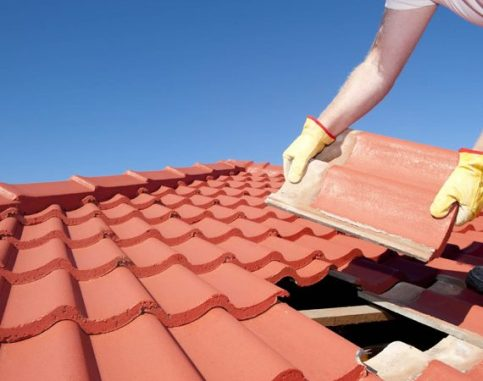 Clay Roof Work