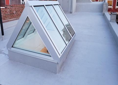 Skylight Roofing Work