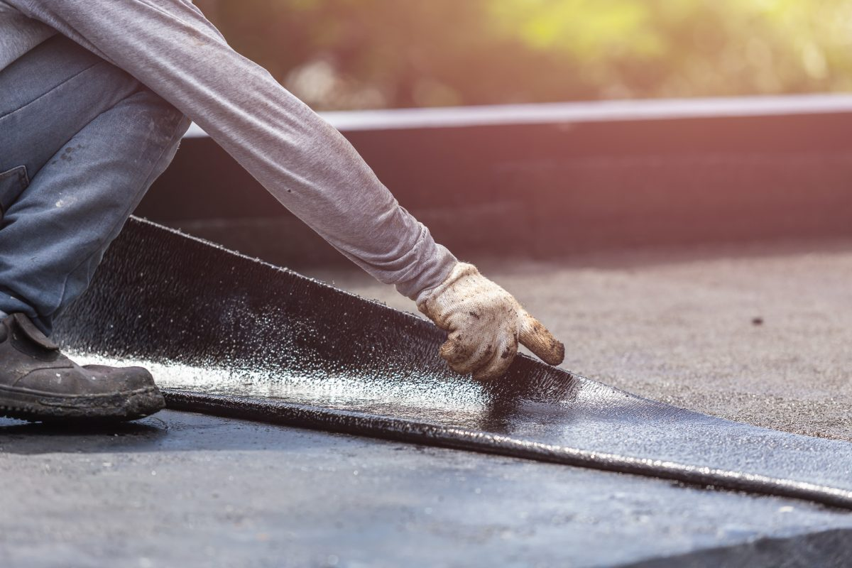 Flat Roof Repair in Akron Ohio